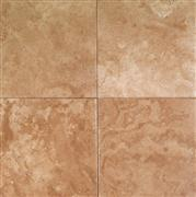 Walnut Travertine Round Edge, Brushed