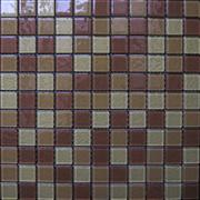 Colorful glass mosaic, mosaic tile