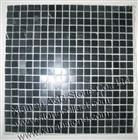 Black marble mosaic tiles MT-28