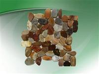 Pebble mosaic for decoration