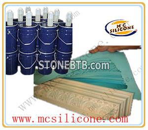 Culture stone mold with RTV-2 silicone