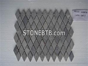 Mosaic Luer Grey tumbled