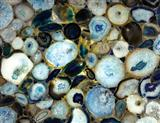 Blue Agate Artificial Stone