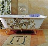 Bath design with natural stones