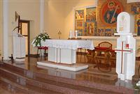 Altars and church interiors
