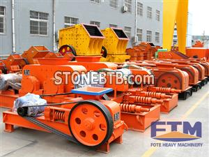 Roller crusher/Small Size Double Roll Crushers/High Quality Roll Crusher