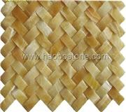 Mosaic-Yellow onyx,MOP-1013