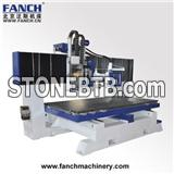 Table Moving Ballscrew Transmission CNC Machining Center for Soft Metal and Non-metal
