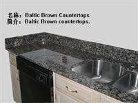 baltic brown countertop/worktop