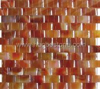 Mosaic-Red jade-Mop1002