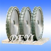 Electroplated profile wheel