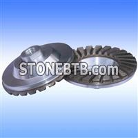 Cup wheel with Alumimium Base