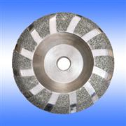 Electroplated diamond blades