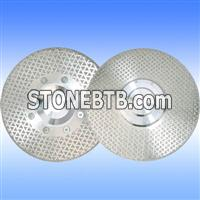 Elctroplated diamond blades