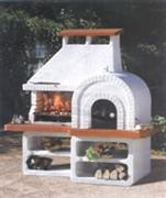 Fireplace and barbecue