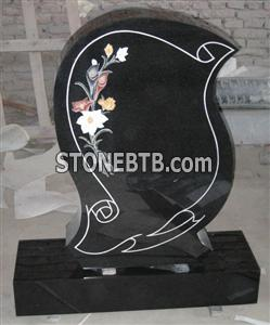 Shanxi Black Monument Scroll Line