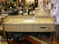 Mum Yellow Granite Vanity Top