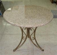 Granite Top w/ Iron Base 4