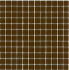 Brown crystal glass mosaic
