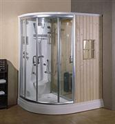 Aruba Luxury Shower with Wet and Dry Steam Rooms
