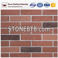 Decorative cement faux thin brick panel and veneer