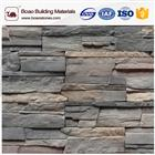 Artificial stacked stone veneer faux cultured stone panel wall