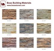 decorative artificial culture stone veneer panel for wall siding