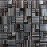 Multicolored glass mosaic