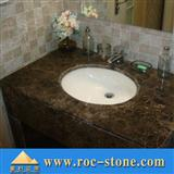 Dark Emerador Marble Bath Top
