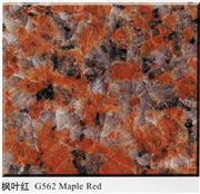 Maple red granite, granite G562