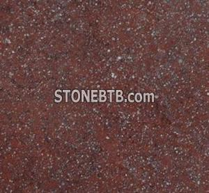 Granite Shouning Red Cube