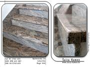 Juparana Granite Stairs, Steps