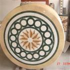 Mosaic Medallion, Waterjet Medallion