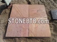 Pink Color Lime Stone