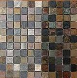 Slate Mosaic 6 Colors 1x1