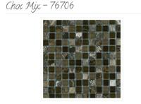 Accent Glass and Stone Mix Mosaics