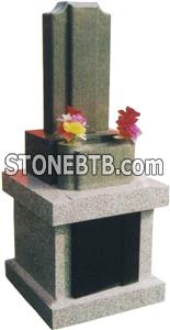 Japanese Style Tombstone 075