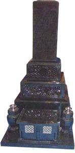 Japanese Style Tombstone 081