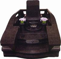 Japanese Style Tombstone 023