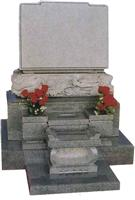 Japanese Style Tombstone 046