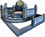 chinese style tombstone 002