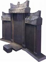 Chinese Style Tombstone 024