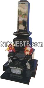 Japanese Style Tombstone 082