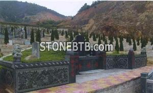 Chinese Style Tombstone 003