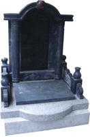 Chinese Style Tombstone 060
