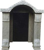 Chinese Style Tombstone 074
