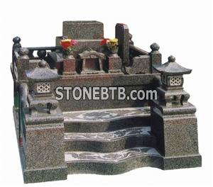 Japanese Style Tombstone 022