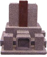 Japanese Style Tombstone 047