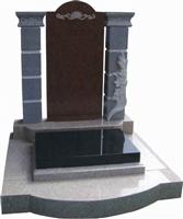Chinese Style Tombstone 029