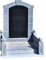 Chinese Style Tombstone 047